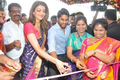 Kajal-Aggarwal-And-Naga-Chaitanya-Inaugurates-Chennai-Shopping-Mall-Photos-7