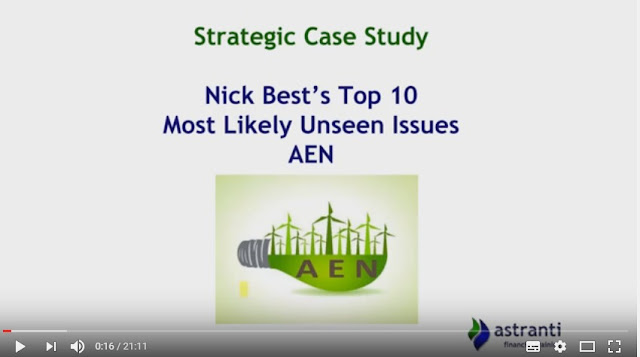 Top 10 issues for SCS - August 2016 - AEN - CIMA Strategic case study