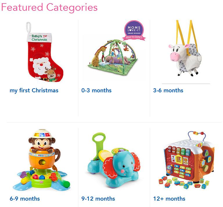 3478033db62a ... First Christmas Guide featuring great gift ideas based off baby s age  and developmental stage. And of course you ll have a chance to win some  great ...