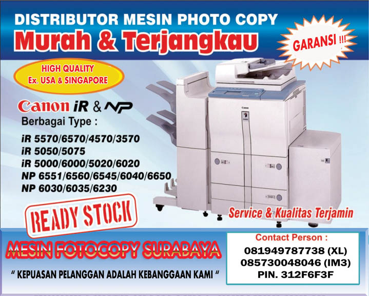 mesin fotocopy canon-mesin fotocopy canon surabaya ...