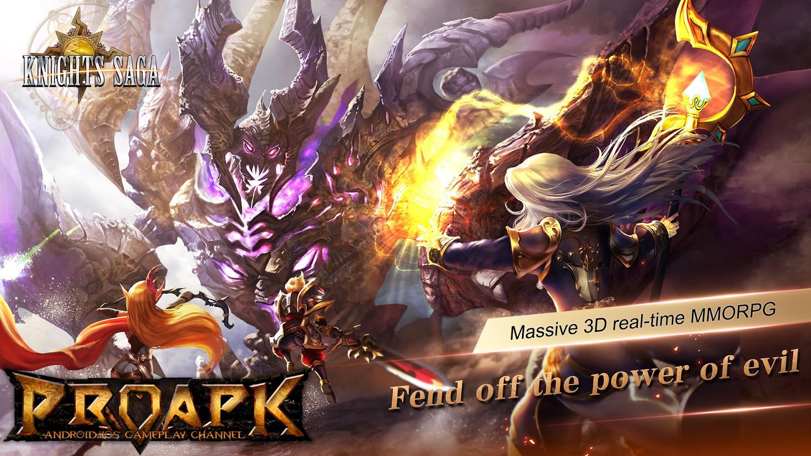 Knights Saga - 3D MMORPG