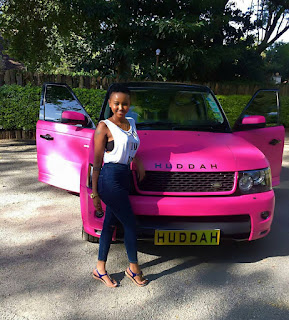 Big booty socialite surprises her boyfriend with a brand new Range Rover. PHOTO | BANA.
