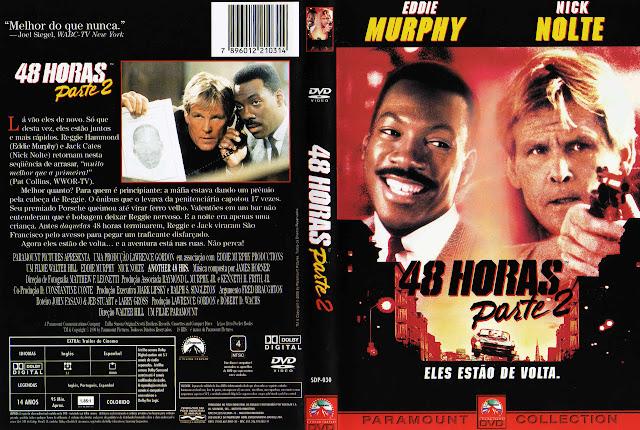 Capa DVD 48 HORAS Parte 2