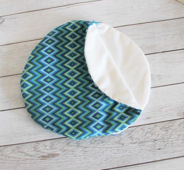 fabric tortilla warmer pattern