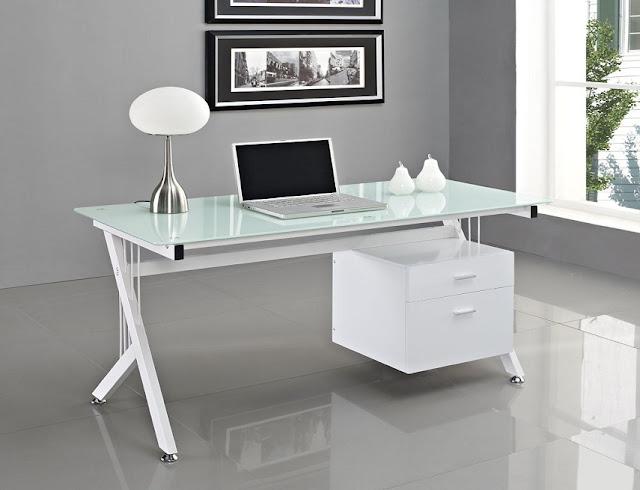 best buy modern white glass office furniture desk for sale