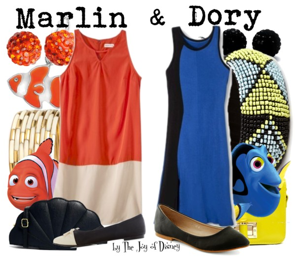 Marlin and Dory, Finding Nemo Disneybound