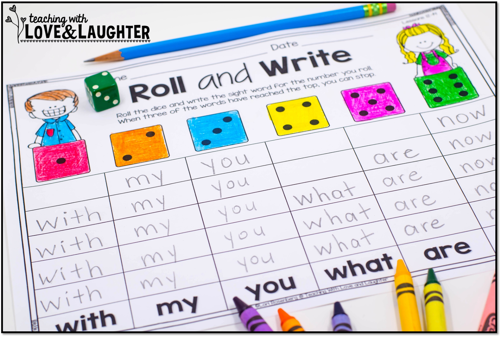 Teaching With Love And Laughter Kindergarten Literacy Activities