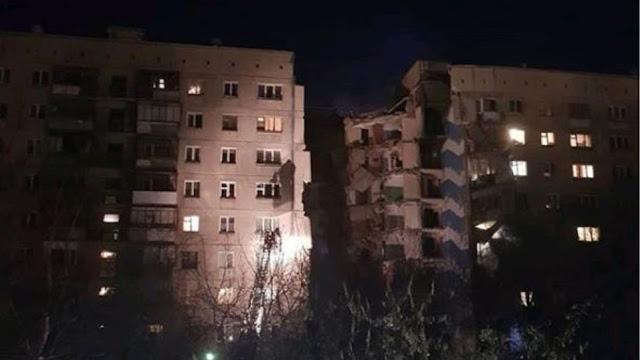 Τρείς άνθρωποι σκοτώθηκαν από κατάρρευση δεκαώροφης πολυκατοικίας στη Ρωσία