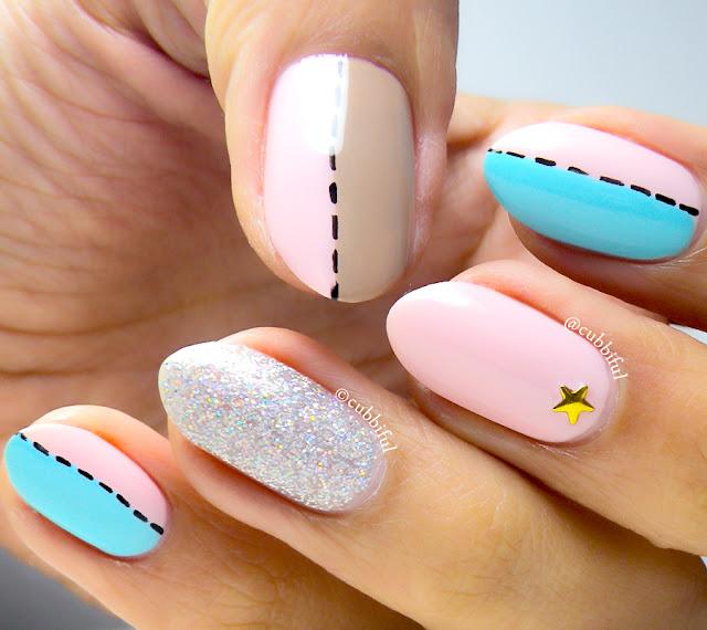 dior nail art