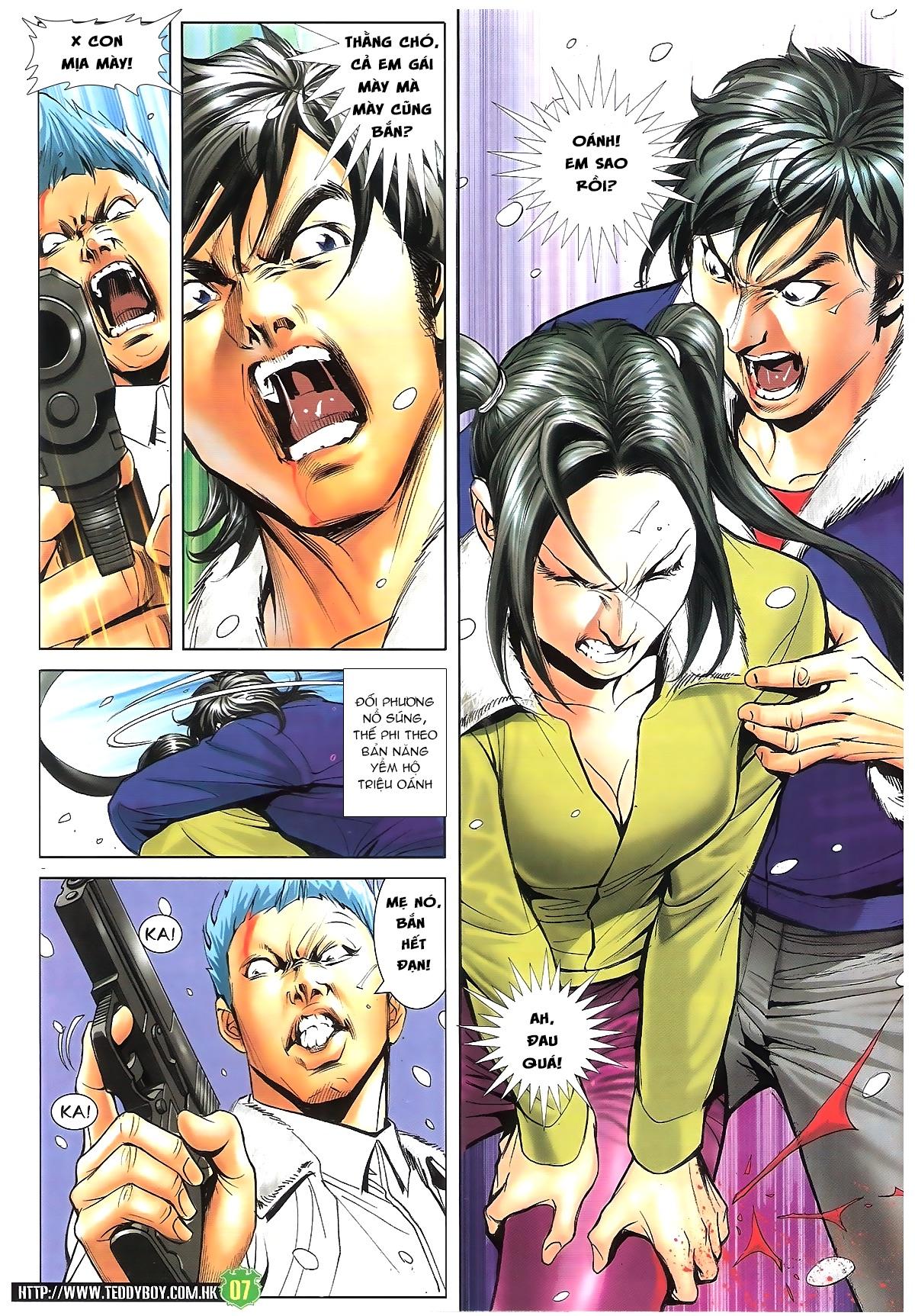 Người Trong Giang Hồ - Chapter 1616: Triệu Kế Bang vs Đinh Dao - Pic 6
