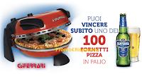 Logo Concorso ''Con Bavaria c'è più gusto'' e vinci 100 fornetti Pizza G.Ferrari + 1 premio certo!