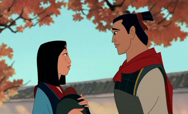 mulan and shang ending a relationship