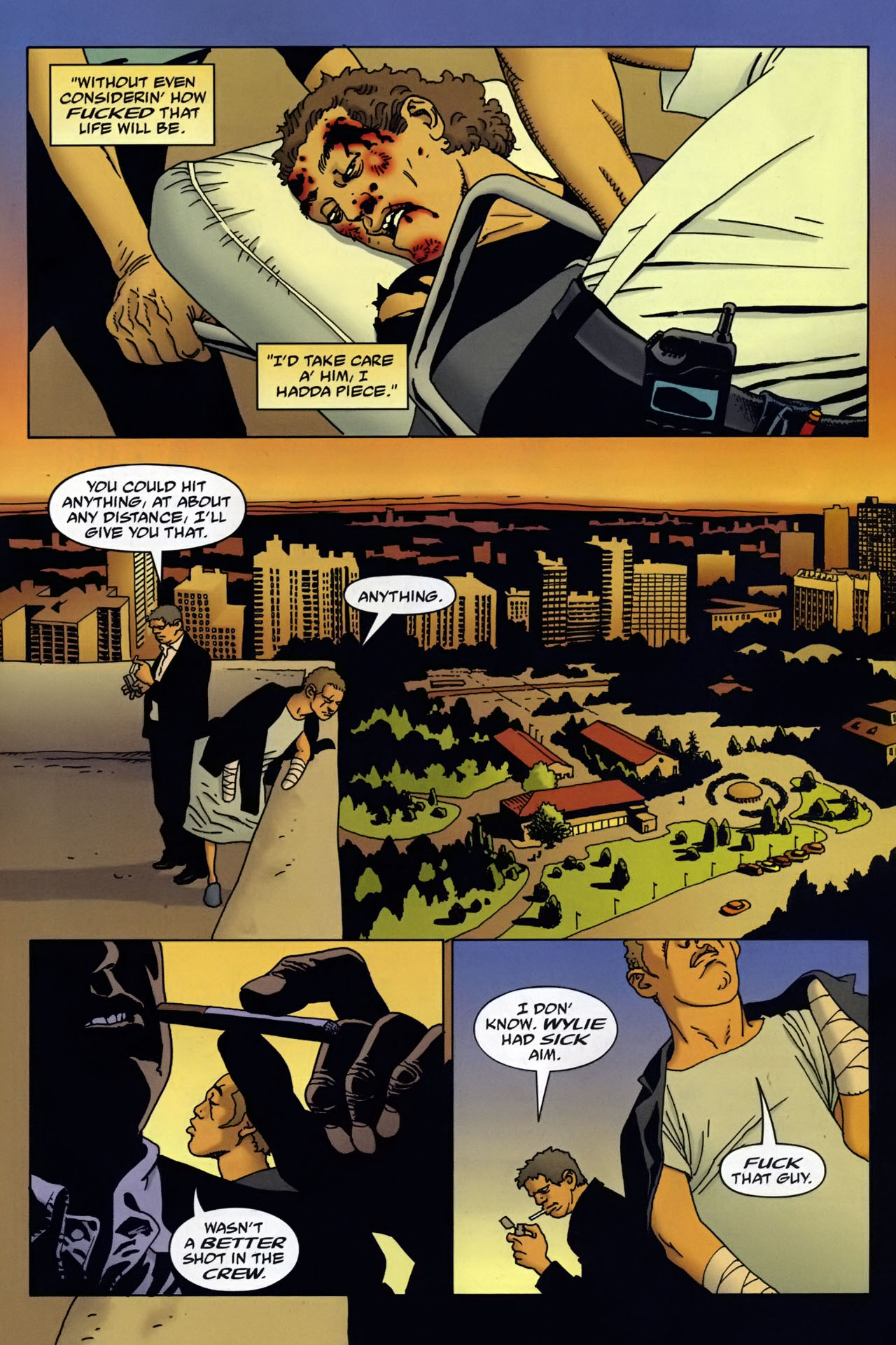 Read online 100 Bullets comic -  Issue #95 - 21