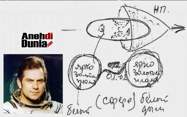 Vladimir Kovalyonok melihat UFO