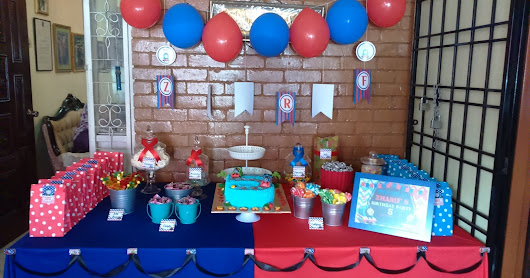 Candy Buffet for birthday party at Ampang