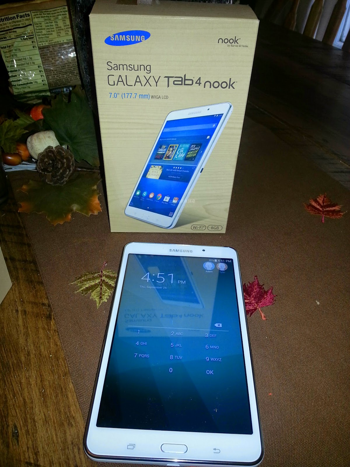 The Perfect Tech Marriage Samsung Galaxy Tab 4 Nook By