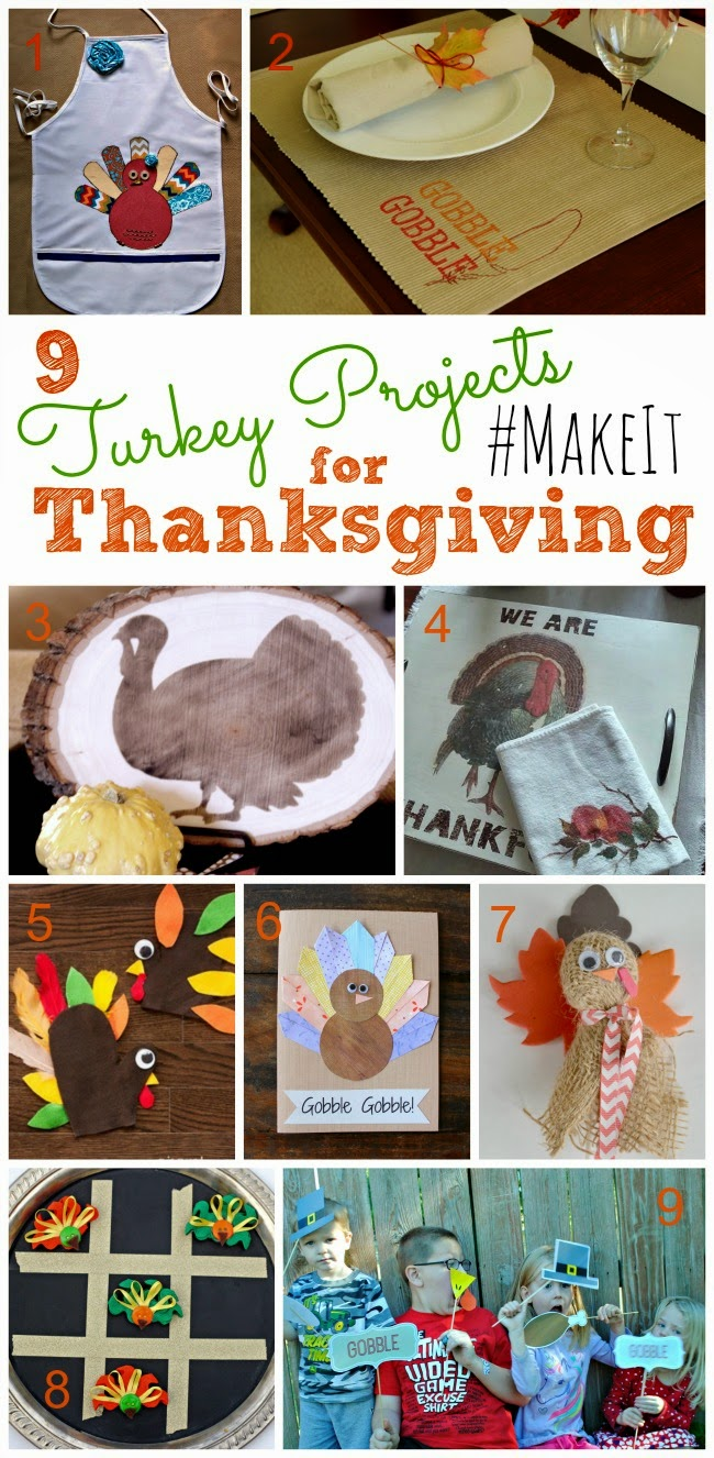 Turkey Projects for Thanksgiving