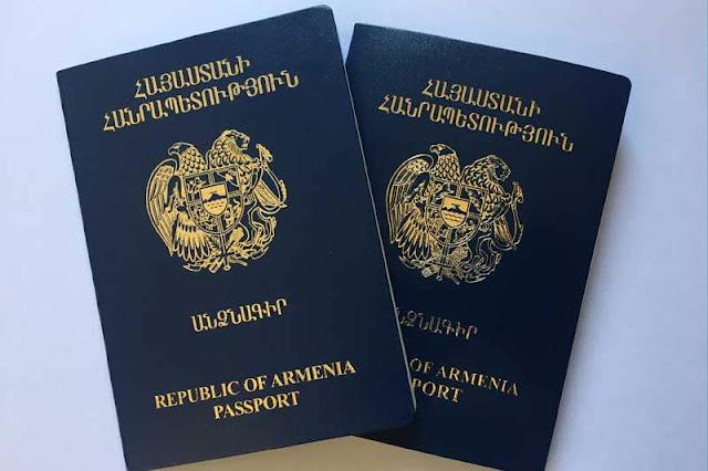 Declaran vencidos pasaportes diplomáticos de Armenia