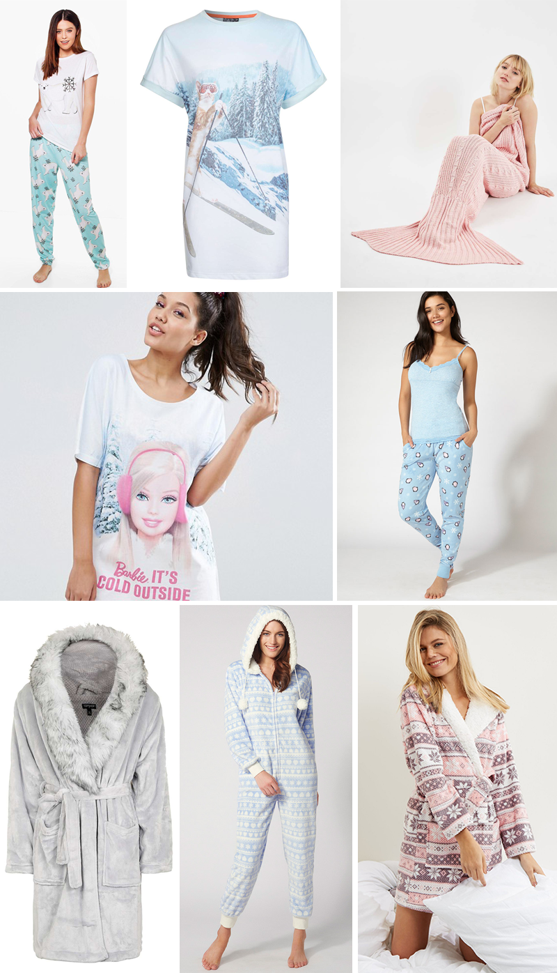 Christmas Festive Pyjamas Nightwear | Colours and Carousels - Scottish Lifestyle, Beauty and Fashion blog