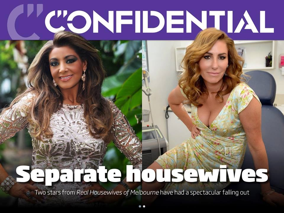 Are Real Housewives Of Melbourne Stars Andrea Moss And ...