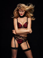 Hot model Maryna Linchuk sexy Chantelle lingerie photoshoot