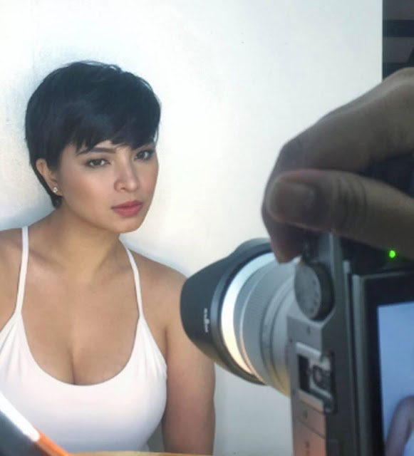 Trending Now Angel Locsin Rocks A New Pixie Cut Which