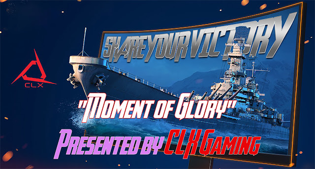 "World of Warships Competition:""Moment of Glory"" Win a CLX Elite Gaming PC"