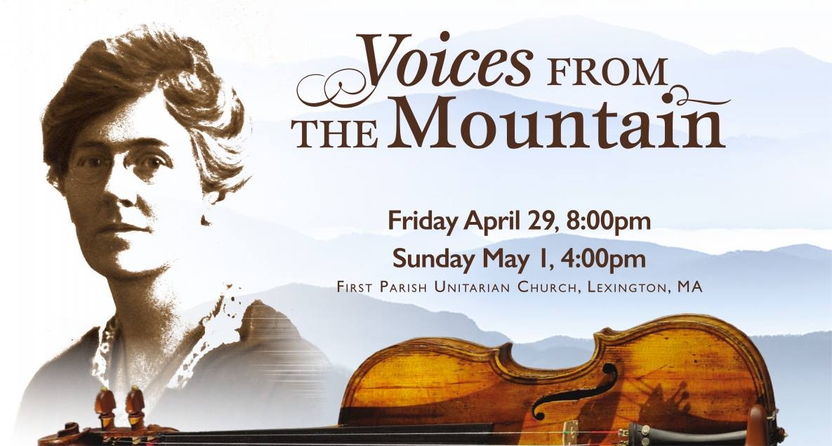 Music voices from the mountain in lexington april 29 and may 1