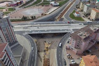 gaziantep Karataş Köprülü Kavşak trafiğe açıldı