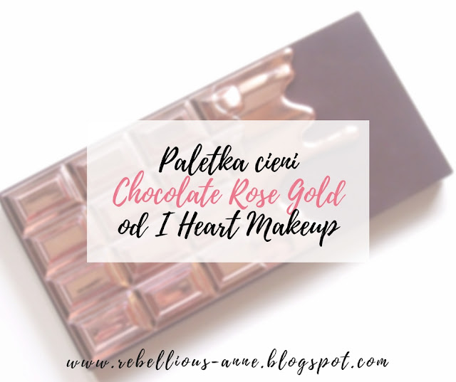 Paletka cieni Chocolate Rose Gold od I Heart Makeup
