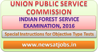 upsc+indian+forest+service+examination+2016+instruction+for+objective+type+test
