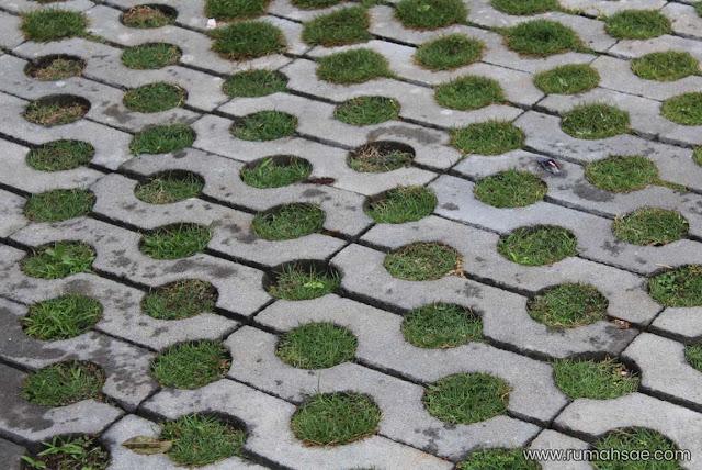 Grass Block Paving Ramah Lingkungan
