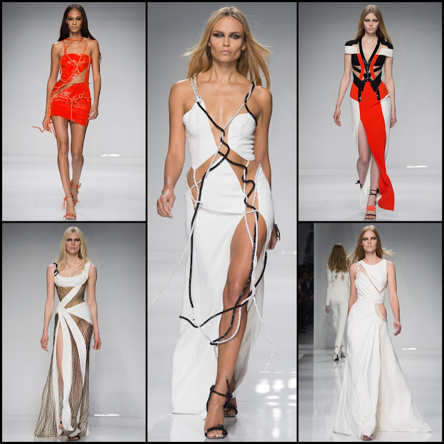 RUNWAY REPORT.....Paris Haute Couture Fashion Week ATELIER VERSACE Haute Couture Spring/Summer 2016: Pics + Video