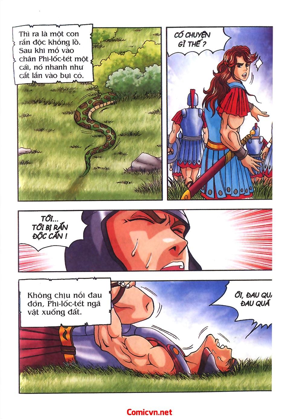 Thần Thoại Hy Lạp Màu - Chapter 54: Tiến về thành Troy - Pic 11