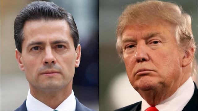 Trump viaja este miércoles a México para reunirse con Peña Nieto