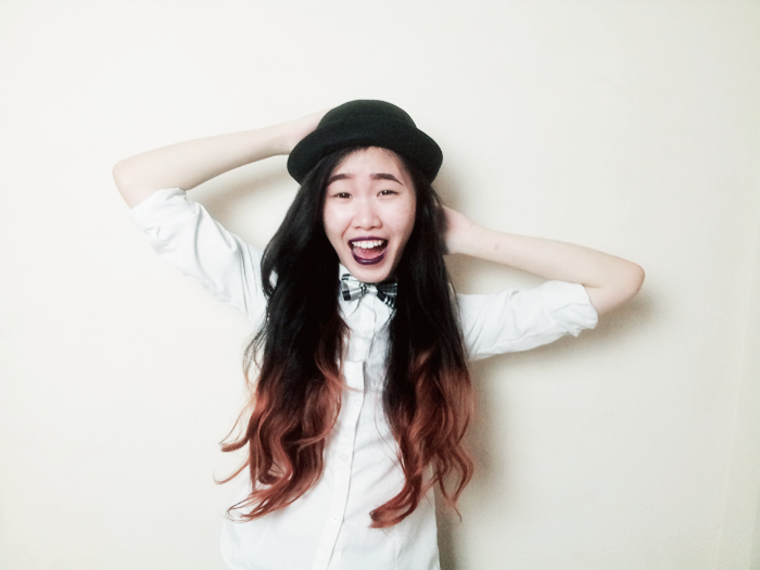 Brunei Blogger May Cho The Mayden Hairstyles for Hats