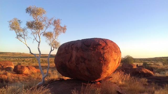 devils marble - australia