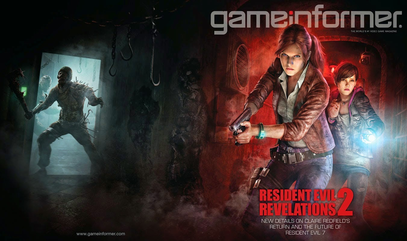 Resident Evil Revelation 2 (Game Informer cover)