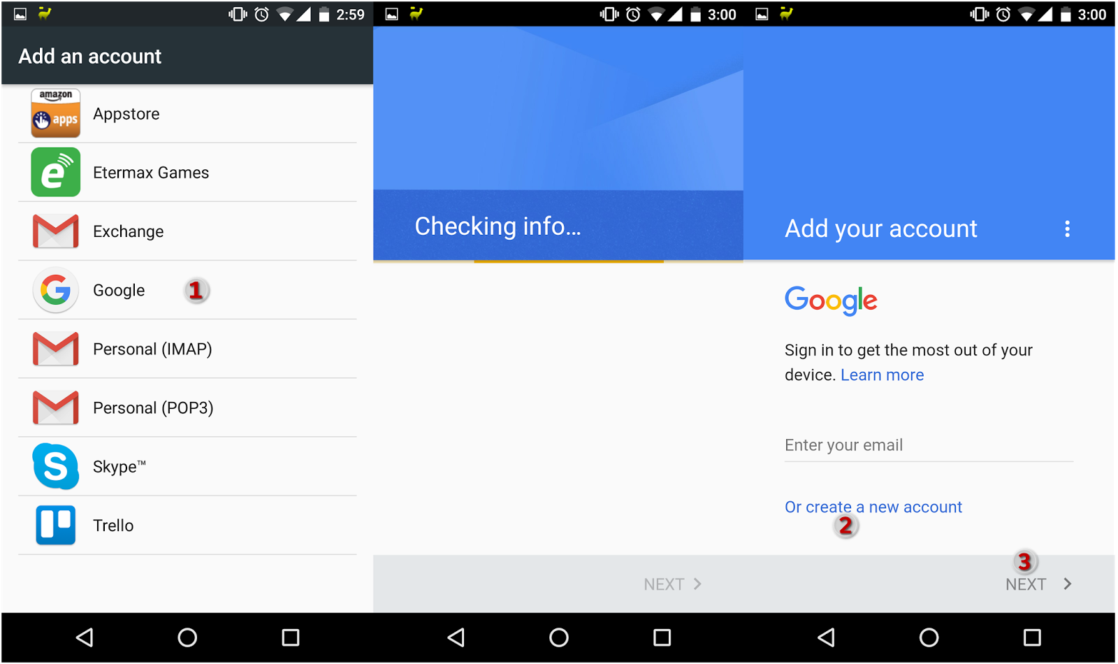 How to sign up for a Google/Gmail account without a phone