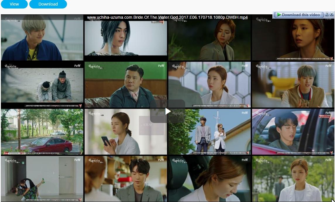 Screenshots Download Film Drama Korea Gratis Bride Of The Water God, The Bride of Habaek, 하백의 신부 (2017) Episode 06 DWBH NEXT MP4 Free