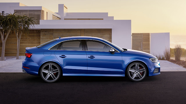 The Audi S3 Saloon
