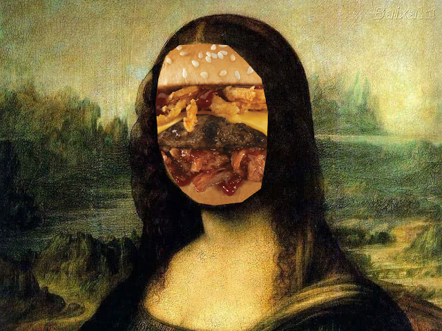 Kris Kind 2013, Mona Lisa Burger, Digital Preview