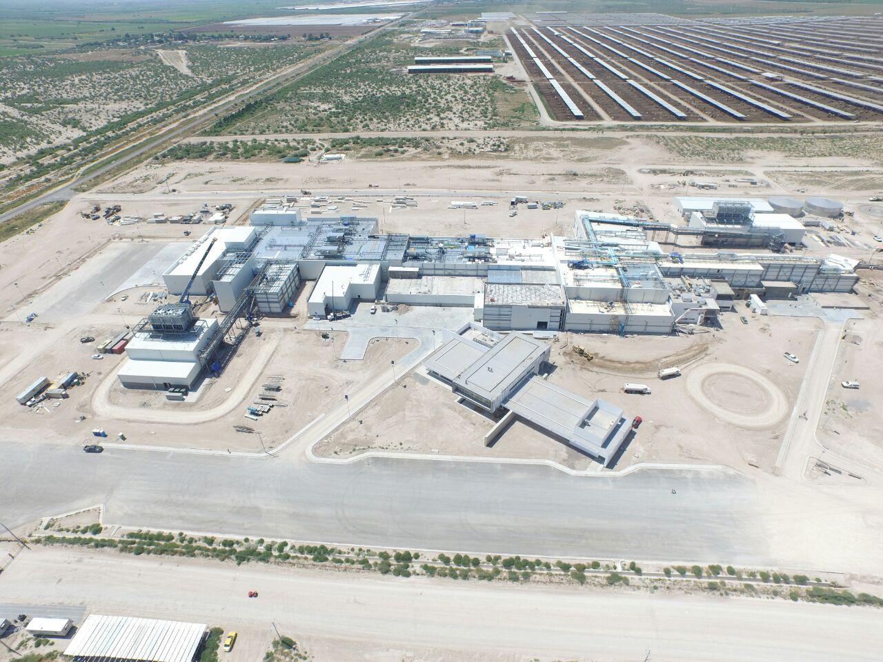 La planta, ubicada en una de las zonas más agrestes y secas del país. FOTO: SuKarne