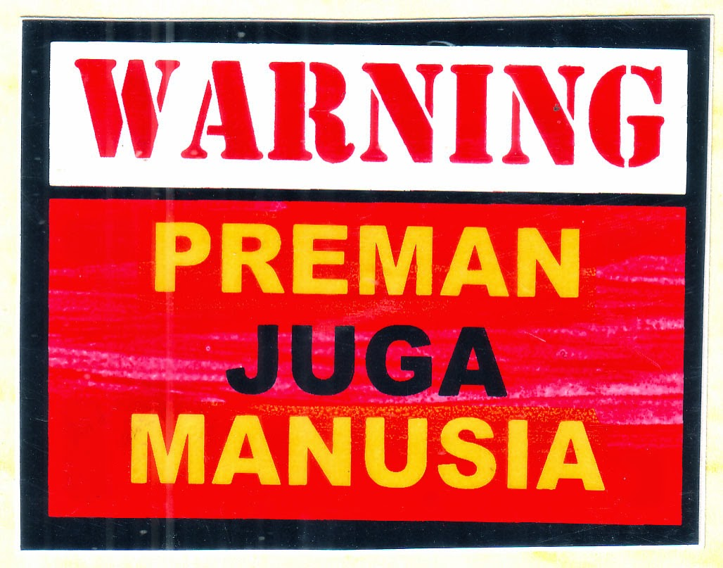 STIKER MODEL PERINGATAN WARNING CAUTION Dsb KUMPULAN STIKER