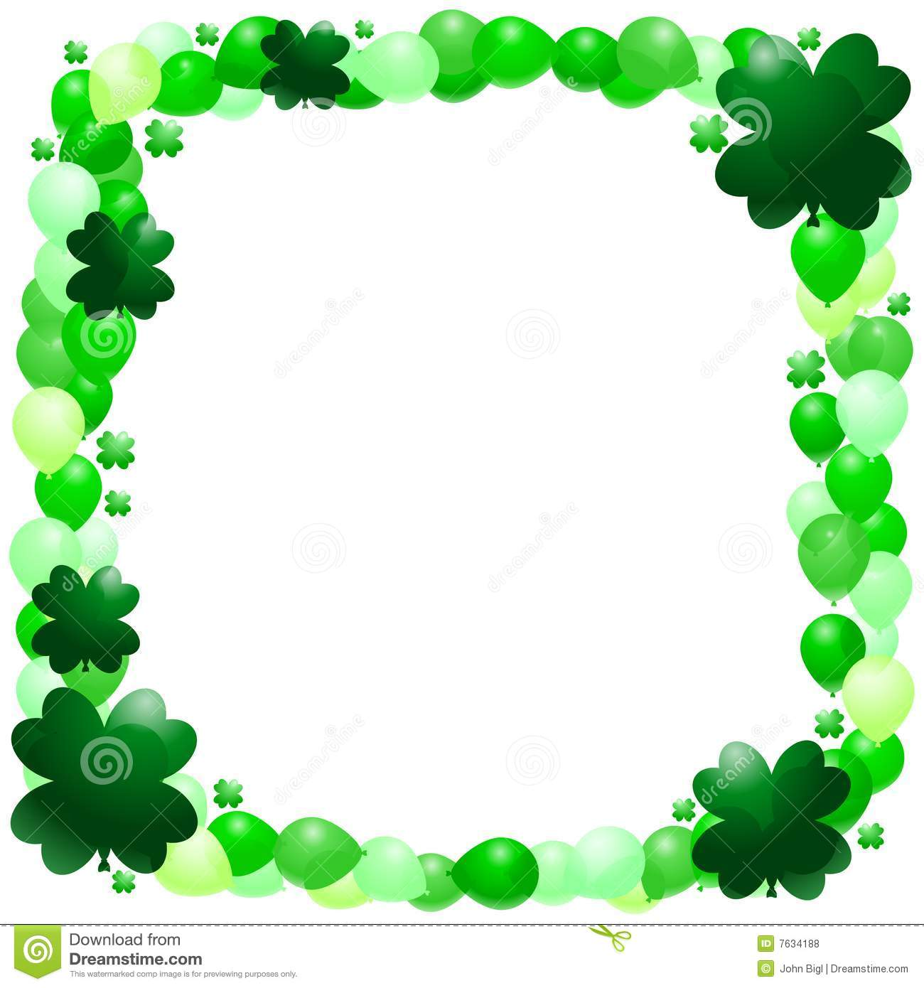 St. Patrick's Day Borders |St Patricks Border