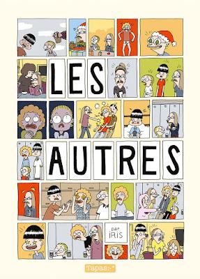 """couverture de """"LES AUTRES"""" de Iris chez Delcourt"""