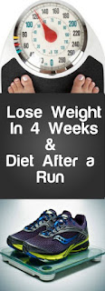 Lose Weight In 4 Weeks By Running And Also Diet After a Run,