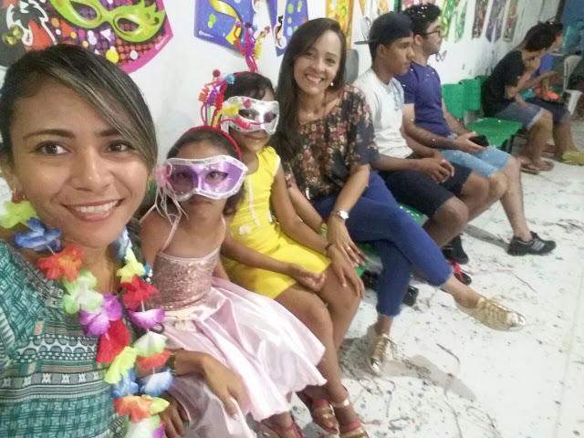 Baile de Carnaval reuniu crianças do Serviço de Convivência da Semas