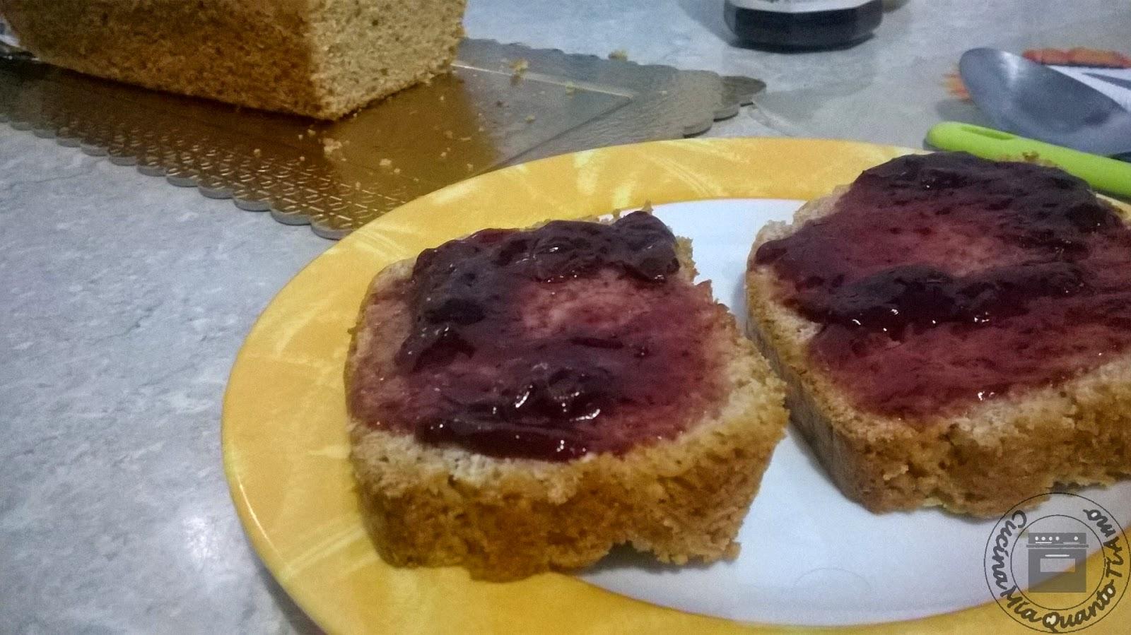 Pane dolce da colazione