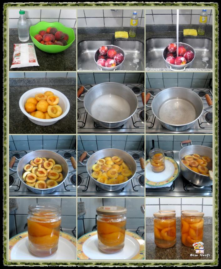 Compota de pêssego 3